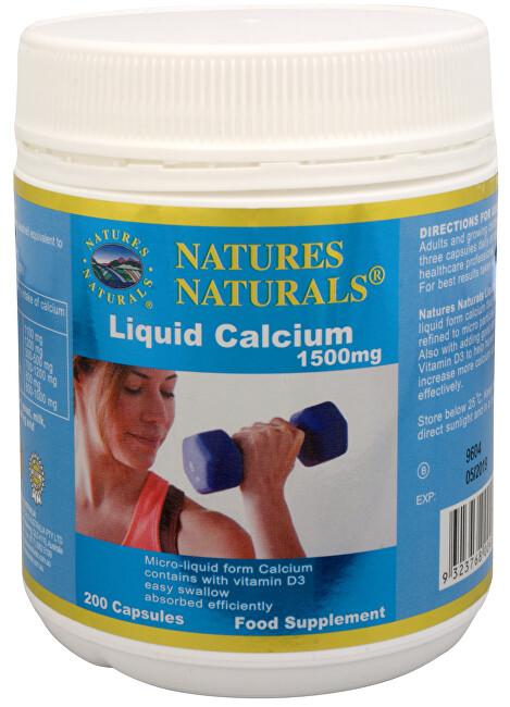 Australian Remedy Liquid Calcium 1500 mg 200 kapslí - SLEVA - poškozená etiketa