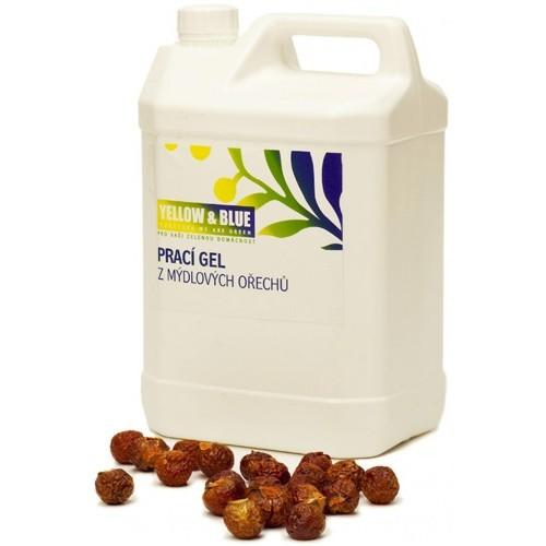 Zobrazit detail výrobku Yellow & Blue Prací gel z mýdlových ořechů 5 l - SLEVA - POMAČKANÝ OBAL