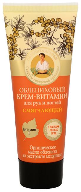 Babushka Agafia Rakytníkový krém na ruky a nechty 75 ml - ZĽAVA - poškodená etiketa