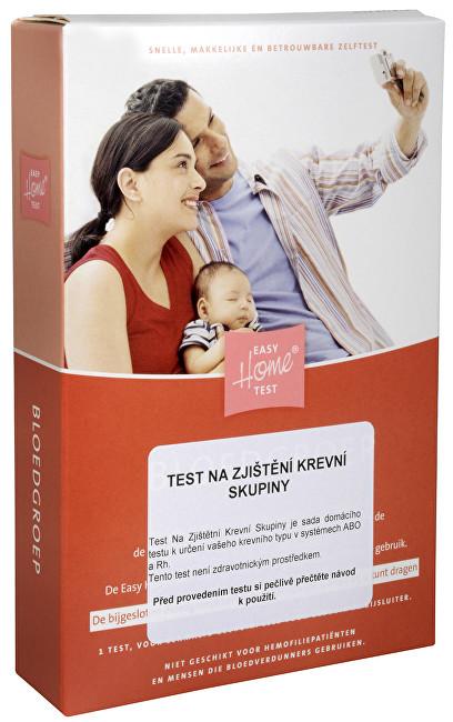 MiraTes Test na zistenie krvnej skupiny 1 ks - ZĽAVA - pokrčený a natrhnutiu Škatuľka