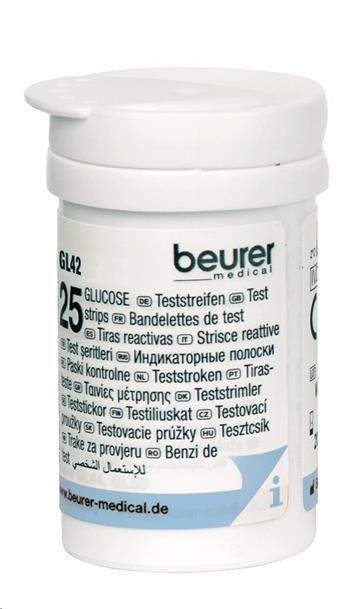 Zobrazit detail výrobku Beurer Testovací proužky 461.15 - SLEVA - poškozená krabička