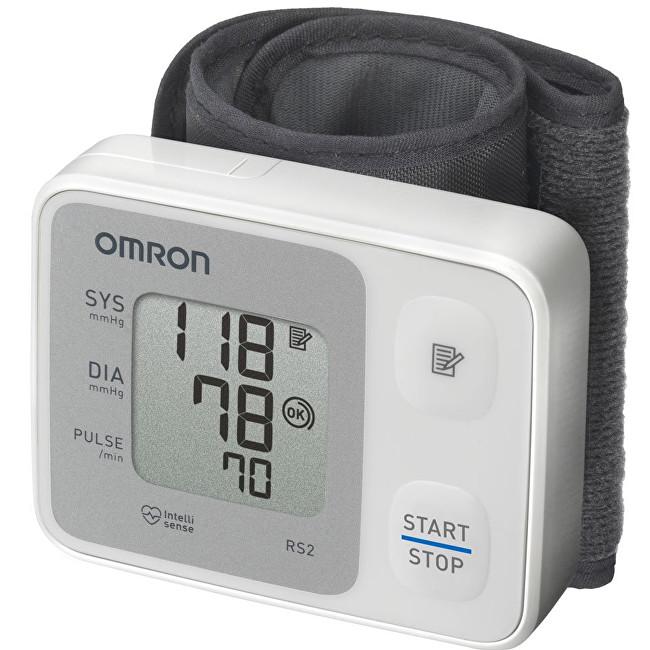 Zobrazit detail výrobku Omron Tonometr digitální RS2 na zápěstí - SLEVA - poškozená krabička