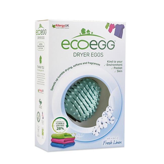 Zobrazit detail výrobku Ecoegg Vajíčko do sušičky prádla s vůní svěží bavlny 2 ks - SLEVA - poškozená krabička