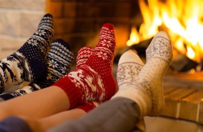 6 důkazů, že ponožky nesmí pod stromečkem chybět