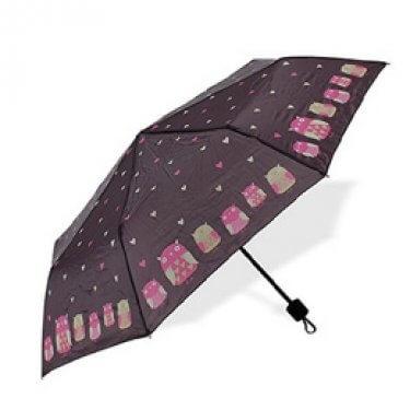 Albi Skladací dáždnik sa sovami