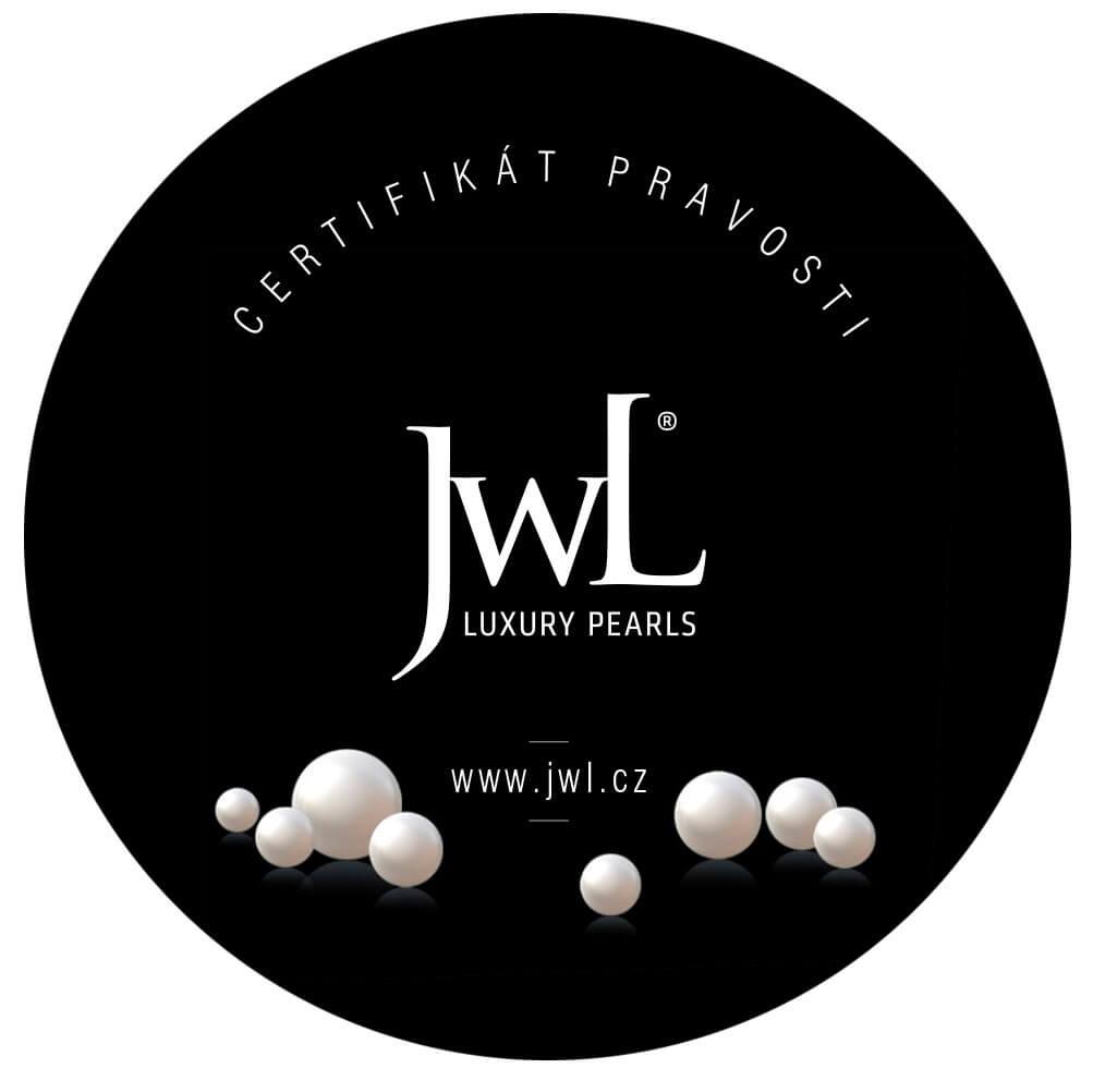 Certifikát pravosti JWL LUXURY PEARLS