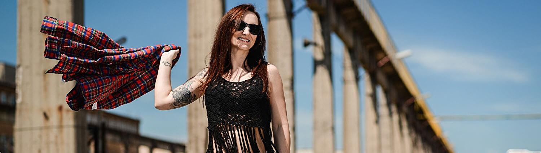 Fashion story o Kristýně, sportu a metalu