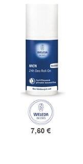 Dezodorant Weleda