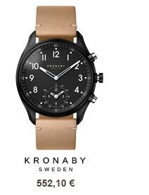 Kronaby hodinky
