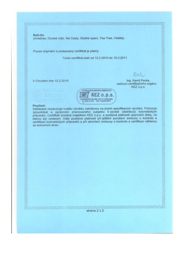 Certifikovaná přírodní kosmetika - CPK BIO