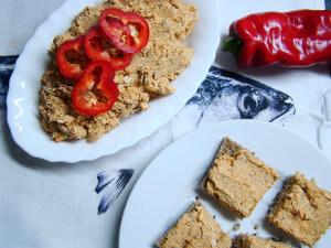 Papriková tofu taštička