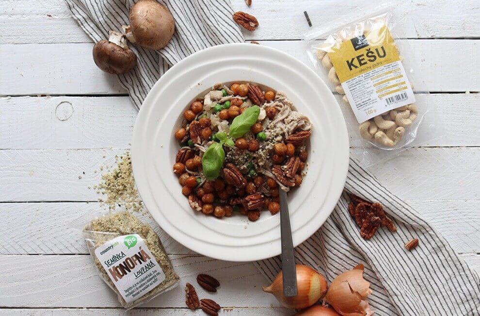 Proteinové těstoviny s cizrnou