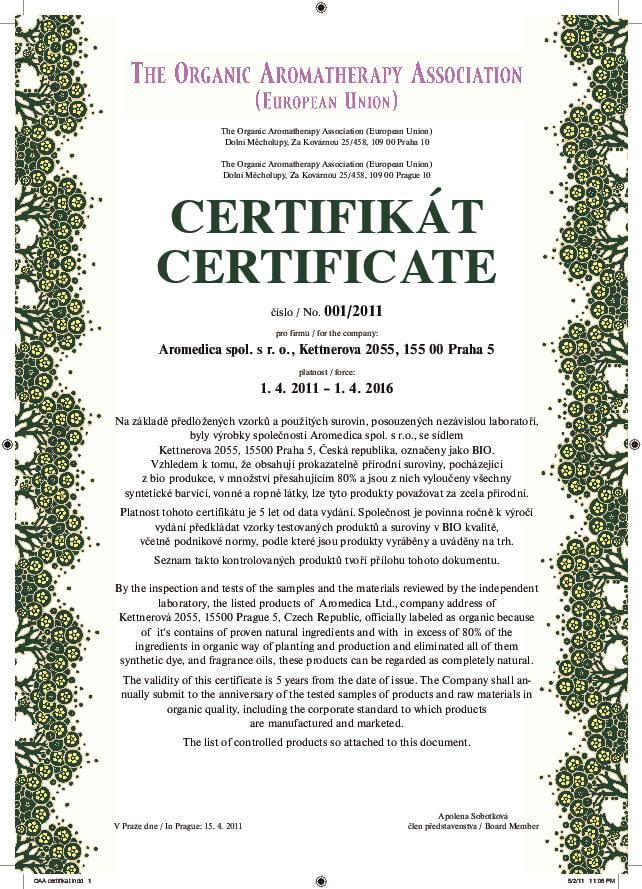 The Organic Aromatherapy Association