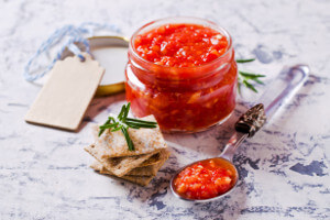 Dip ze sušených rajčat