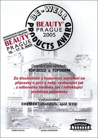 Mezinárodní kosmetický veletrh Praha 2005