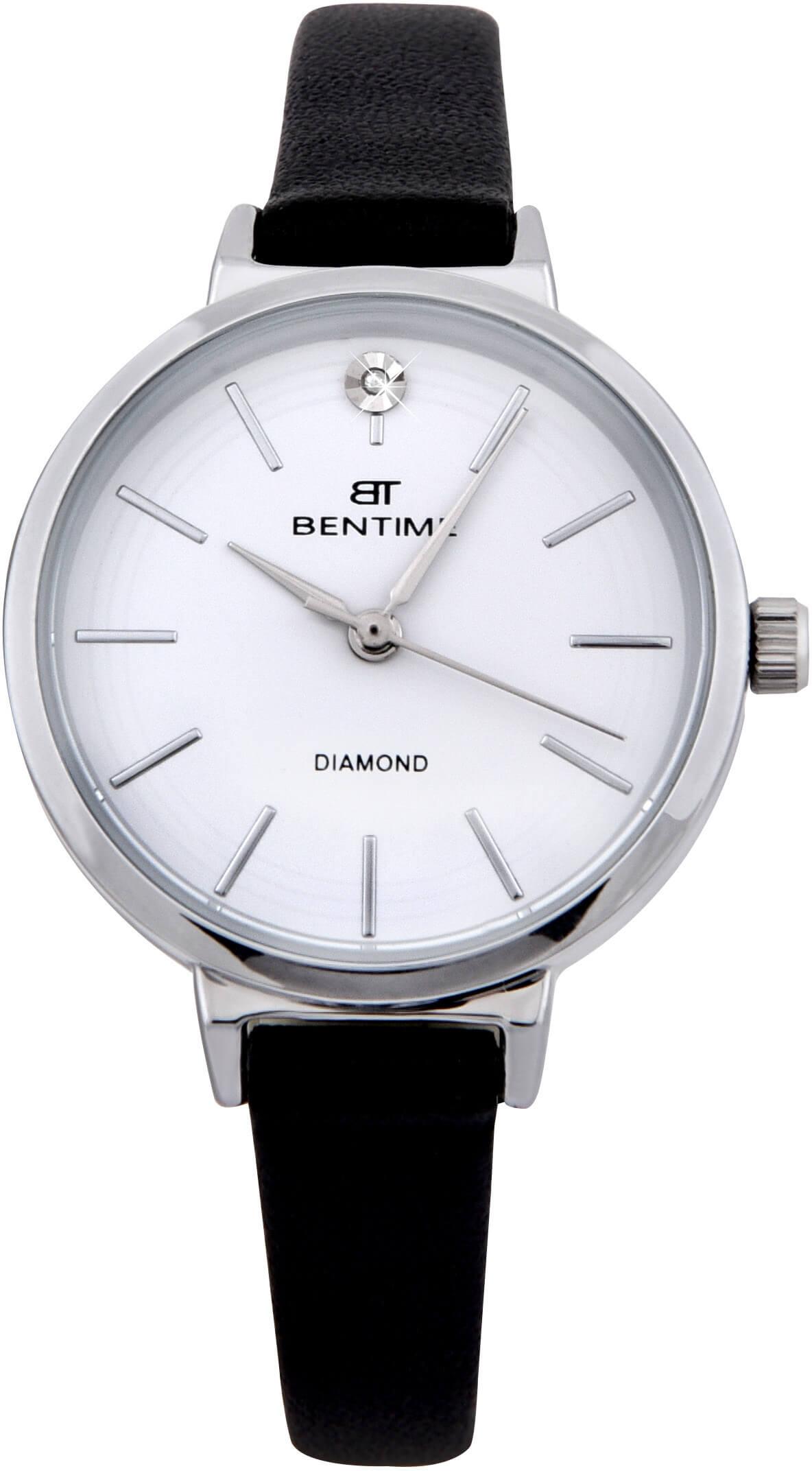 Bentime Dámské hodinky s diamantem 007-9MB-PT12024A  a66e11bb9c