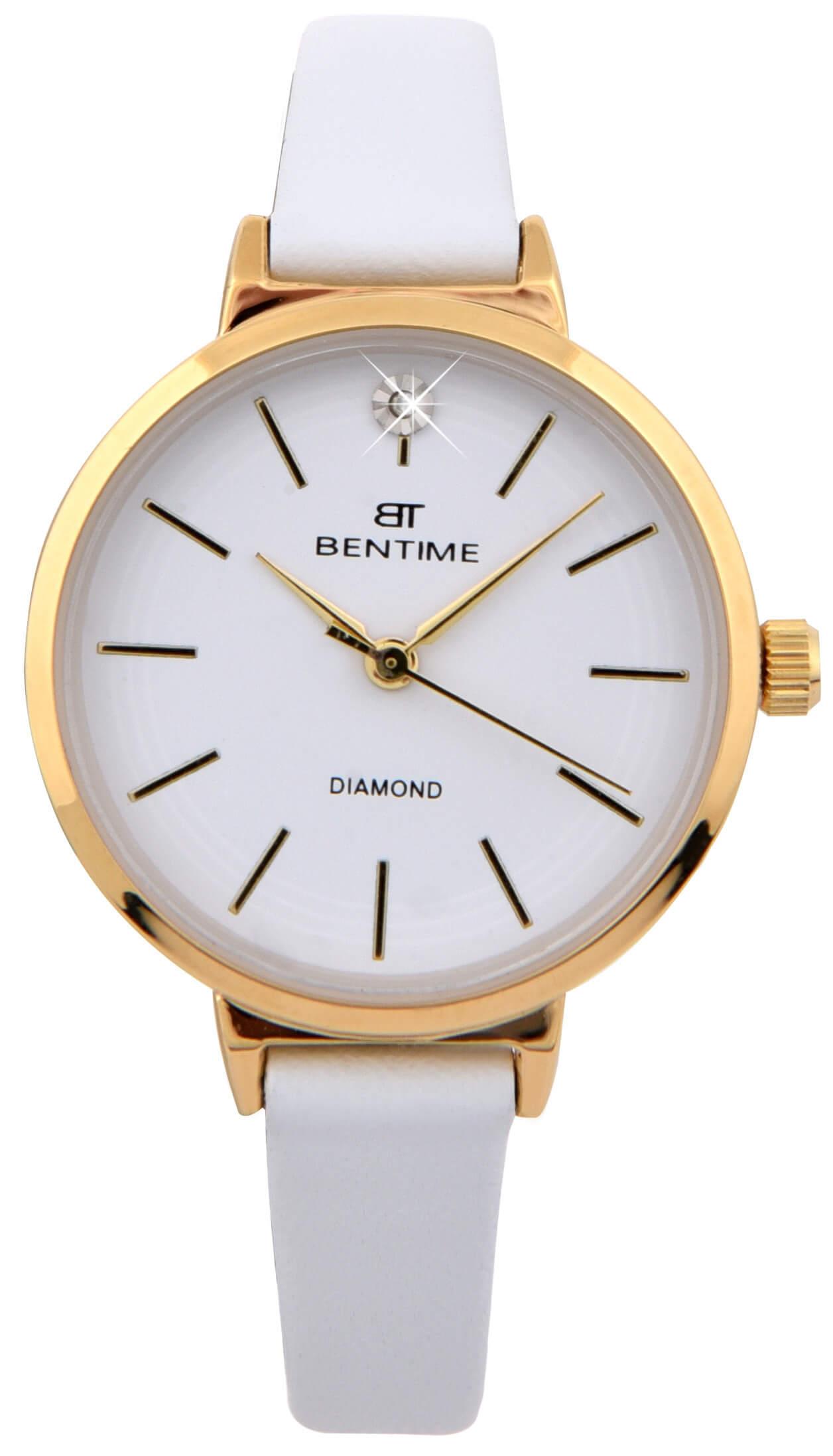 Bentime Dámské hodinky s diamantom 027-9MB-PT12024B  c73e442ba74
