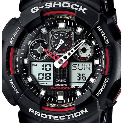 Casio The G G-SHOCK GA-100-1A4ER Doprava a 1 rok záruky naviac ... 99c0f636cfe