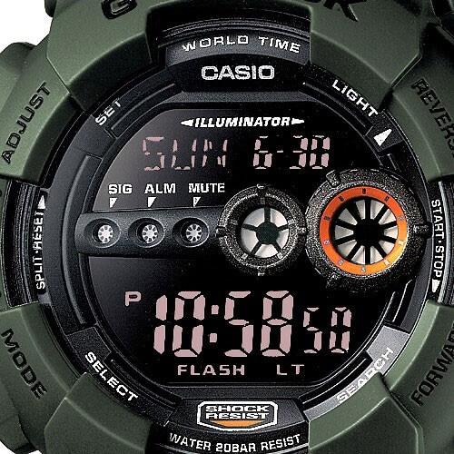 Casio The G G-SHOCK GD-100MS-3ER Doprava a 1 rok záruky naviac ... e1f459aab10