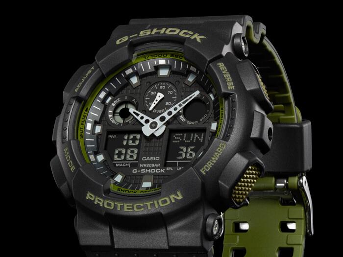 Casio The G G-Shock GA 100L-1A Doprava ZDARMA  d0d51c5ec1