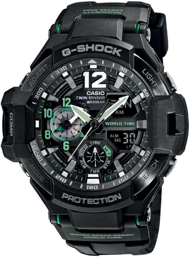 Casio G-Shock Gravitymaster GA-1100-1A3ER Doprava a 1 rok záruky ... 469355cbba2