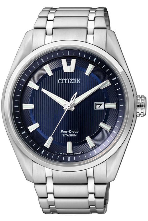 Citizen Eco-Drive Super Titanium AW1240-57L Doprava a roční ... 86dbc364d9a