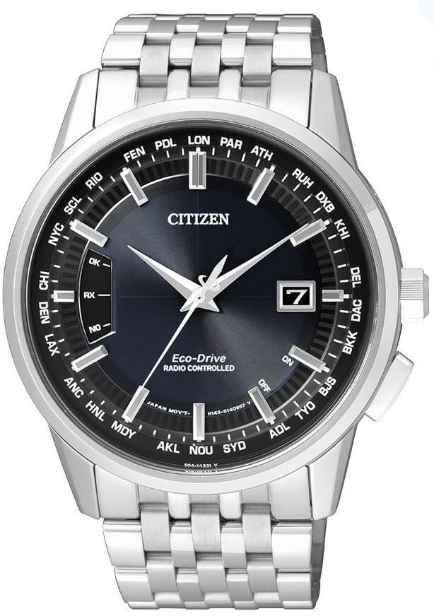 Citizen Eco-Drive Radio Controlled CB0150-62L Doprava a roční ... f3ccbe3ea72