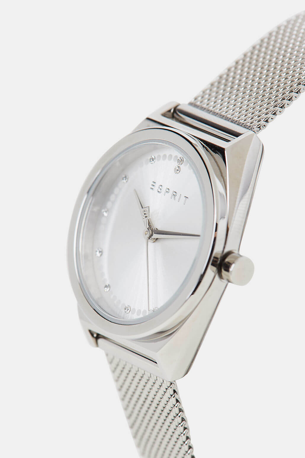 Esprit Slice Dot Silver Mesh SET ES1L100M0055 Doprava ZDARMA ... b785390f711