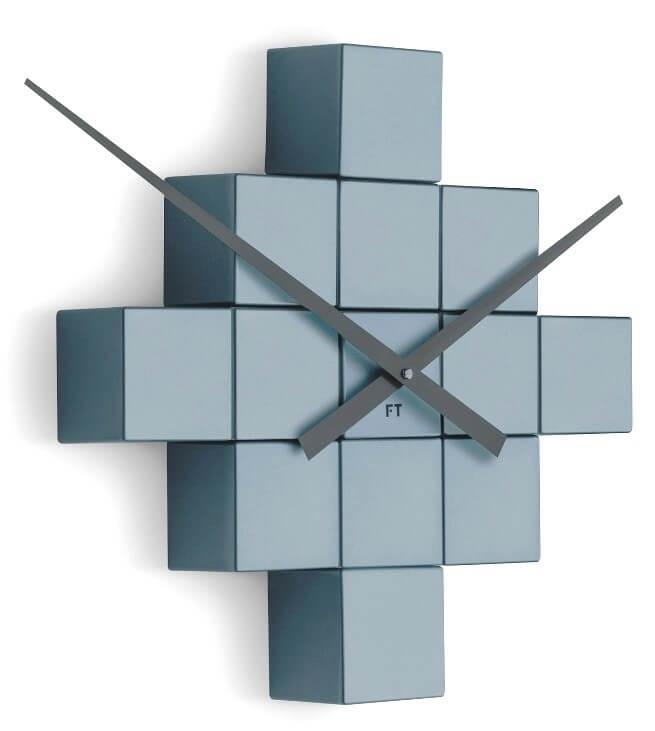 Future Time Nalepovací hodiny Cubic Grey FT3000GY Doprava ZDARMA ... 9db90d56f13
