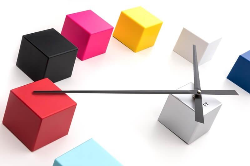 Future Time Nalepovací hodiny Cubic Multicolor FT3000MC Doprava ... 32a64492767