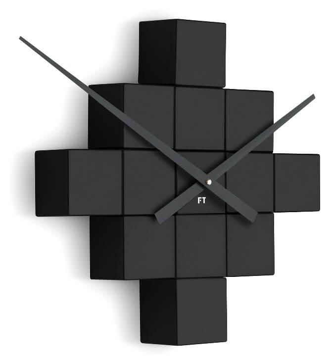 Future Time Nalepovací hodiny Cubic Black FT3000BK Doprava ZDARMA ... 6cfe44dd57f