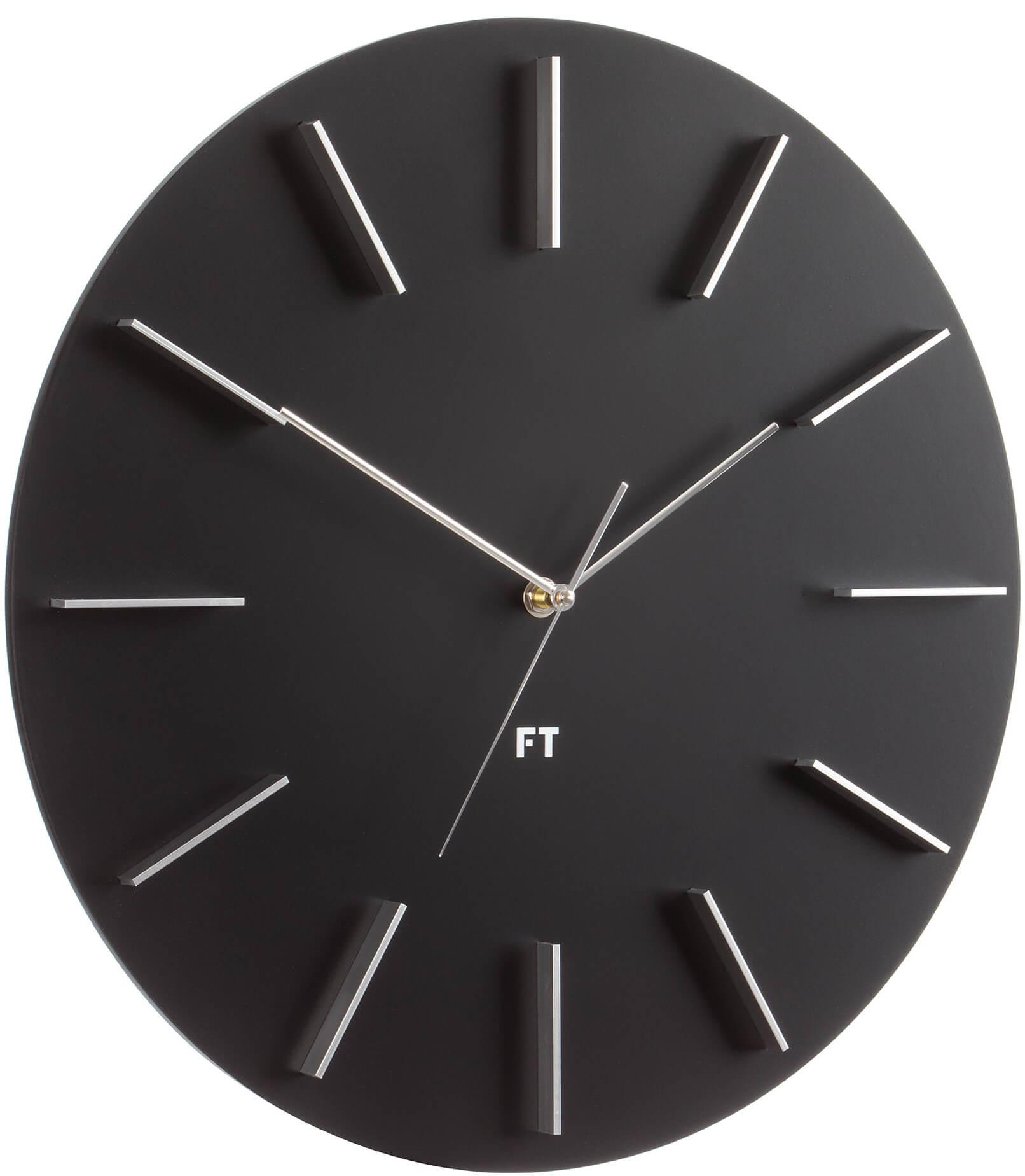 Future Time Round Black FT2010BK Doprava ZDARMA  52c1f75f833