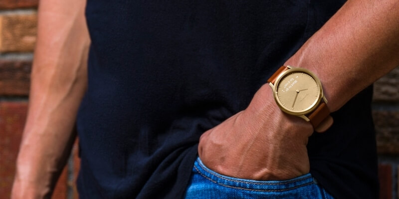 Garmin Vívomove Optic Premium chytré hodinky (vel. S M) zlaté ... 42079a0f722