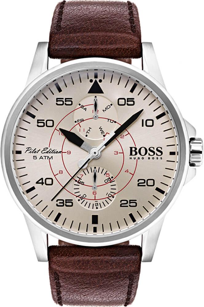 Hugo Boss Aviator 1513516 Doprava a roční pojištění hodinek ZDARMA ... dd306f3b63b