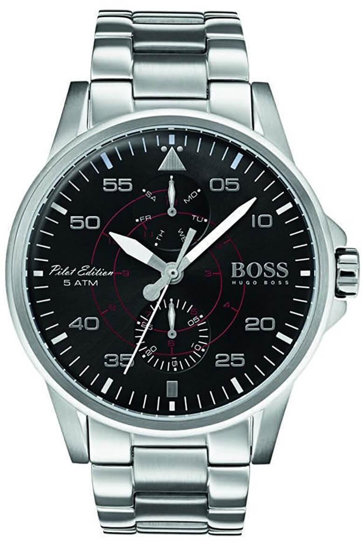 Hugo Boss Aviator 1513518 Doprava a roční pojištění hodinek ZDARMA ... 326cb7b1015