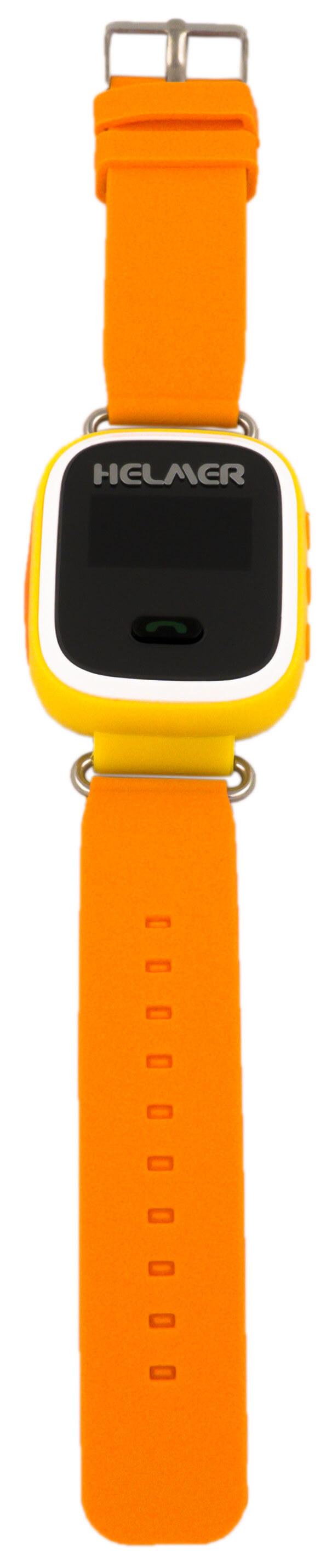 868aa6a3e Helmer Chytré hodinky s GPS lokátorem LK 702 žluté + SIM karta ...
