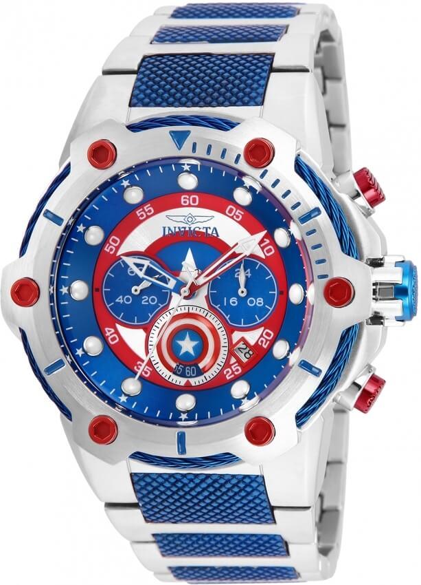 06bc0bb002e Invicta Marvel Captain America 25780 Doprava a roční pojištění ...