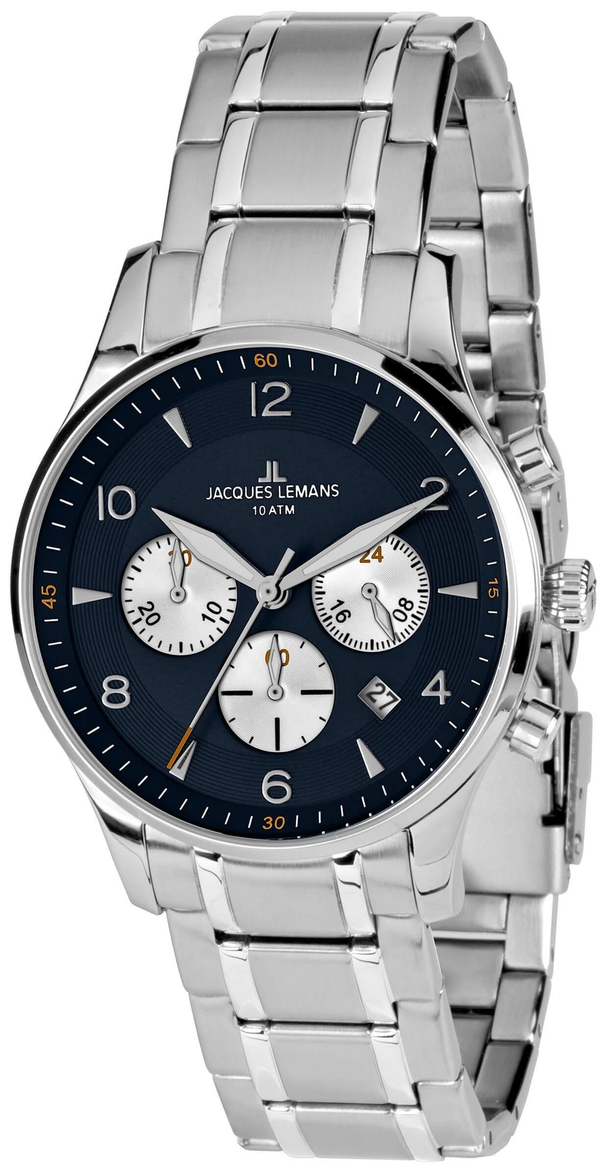 Jacques Lemans London 1-1654K Doprava a roční pojištění hodinek ... f8cf0a649b
