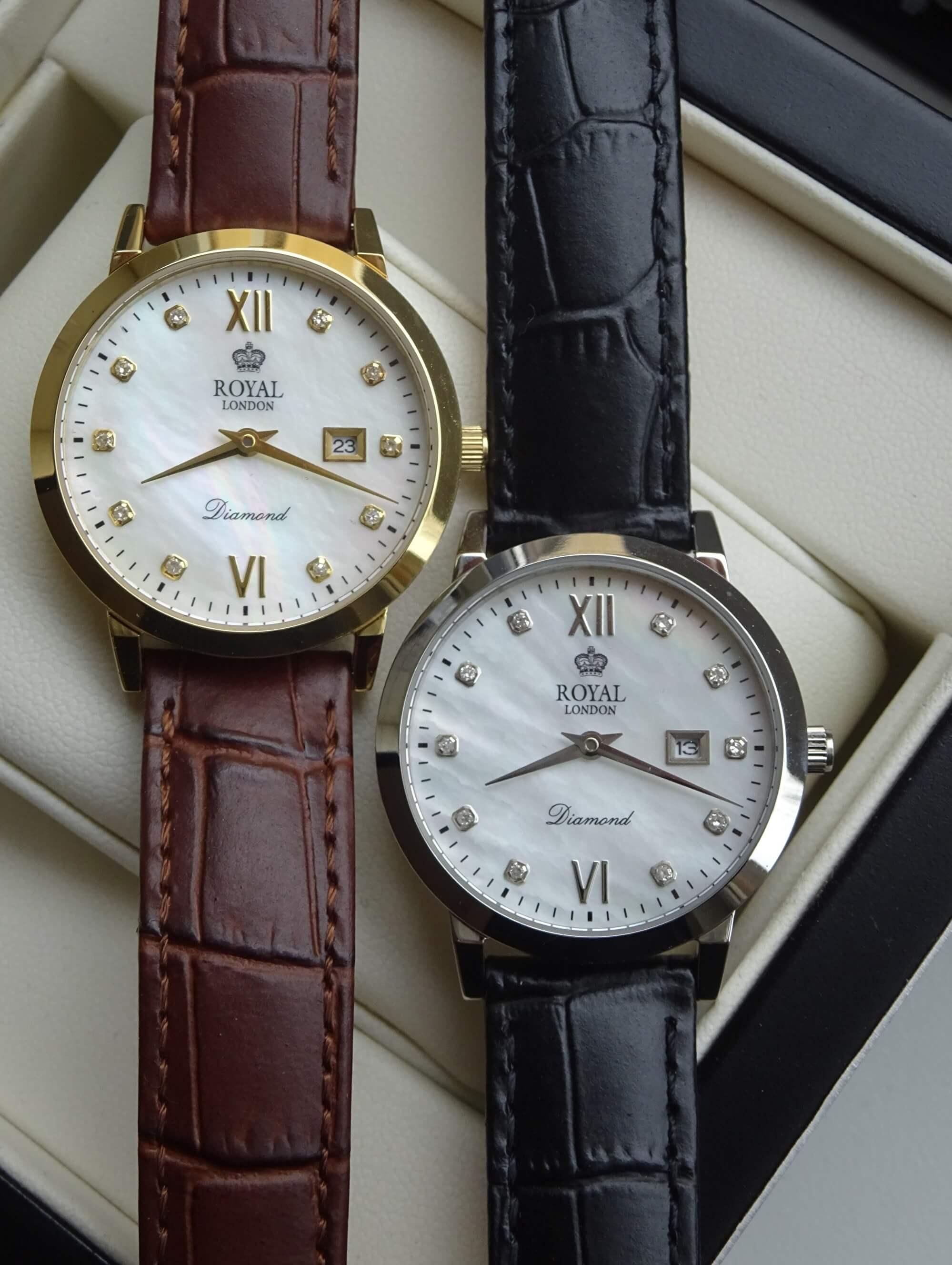 d7ccc8862f2 Royal London 11110-02 Dámské hodinky s diamanty Doprava ZDARMA ...