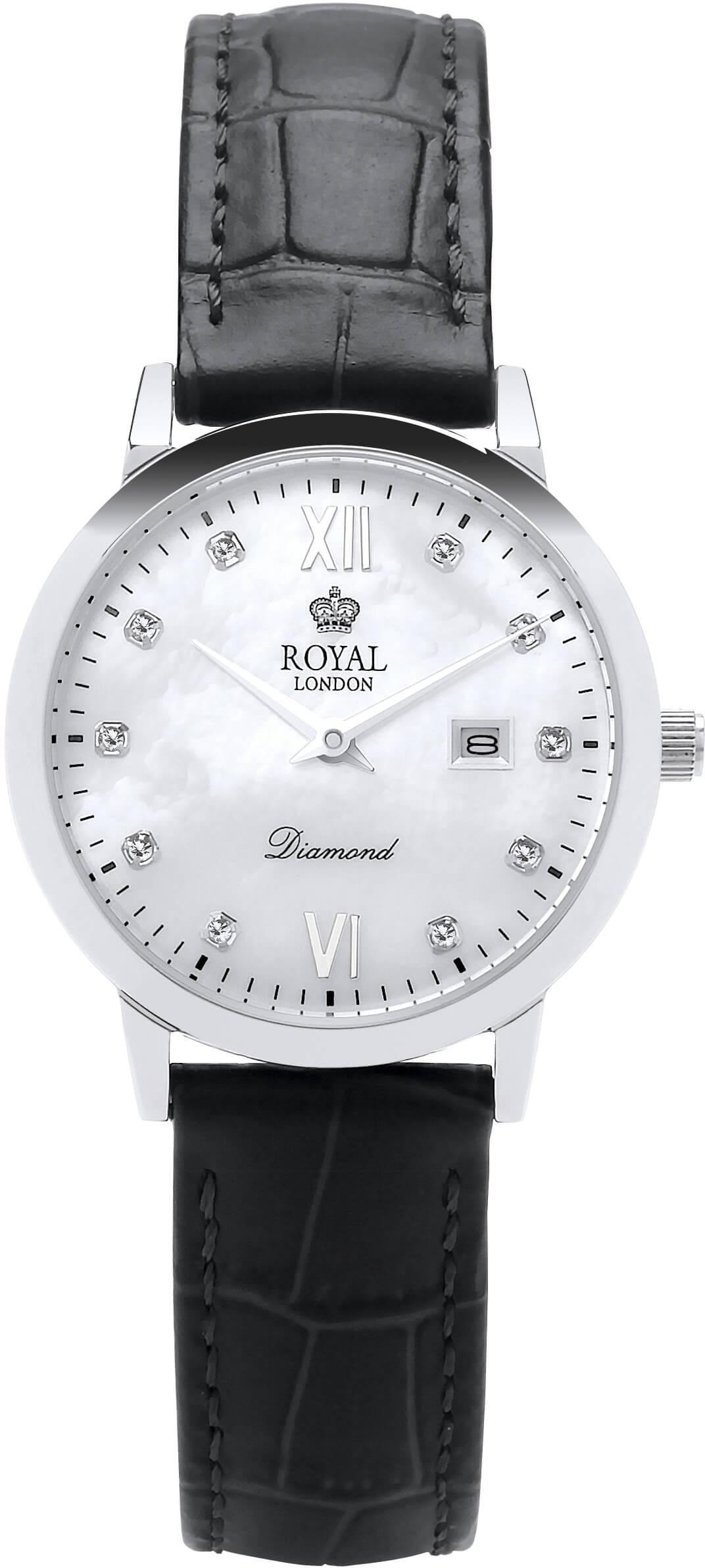 b4377eb0b23 Royal London 11110-01 Dámské hodinky s diamanty Doprava ZDARMA ...