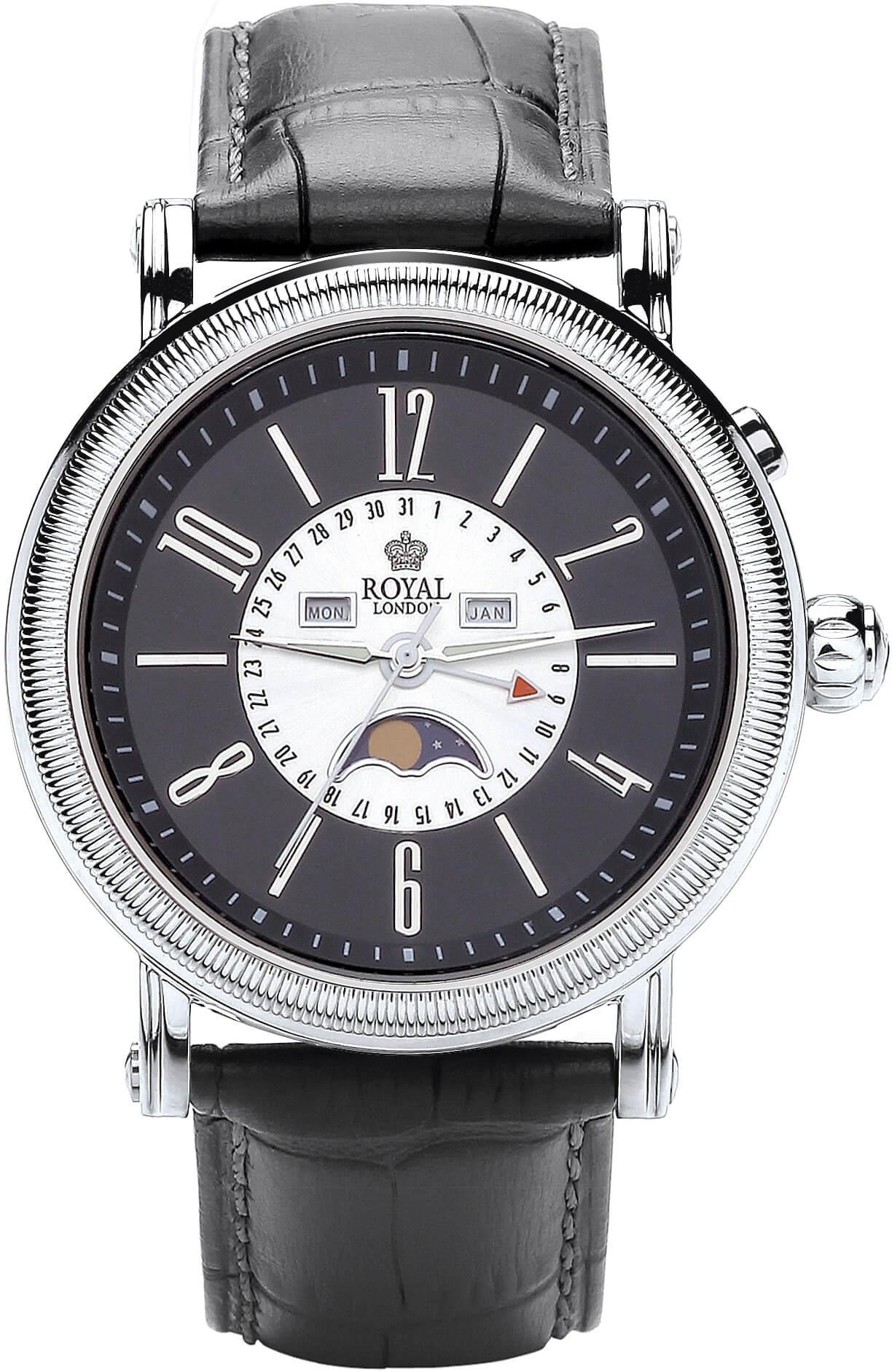 Royal London 41173-04 Pánské hodinky s fází měsíce Doprava ZDARMA ... a9e9d492b7