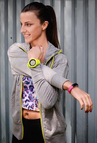 b3181b04953 Sigma Fitness náramek Activo Pink