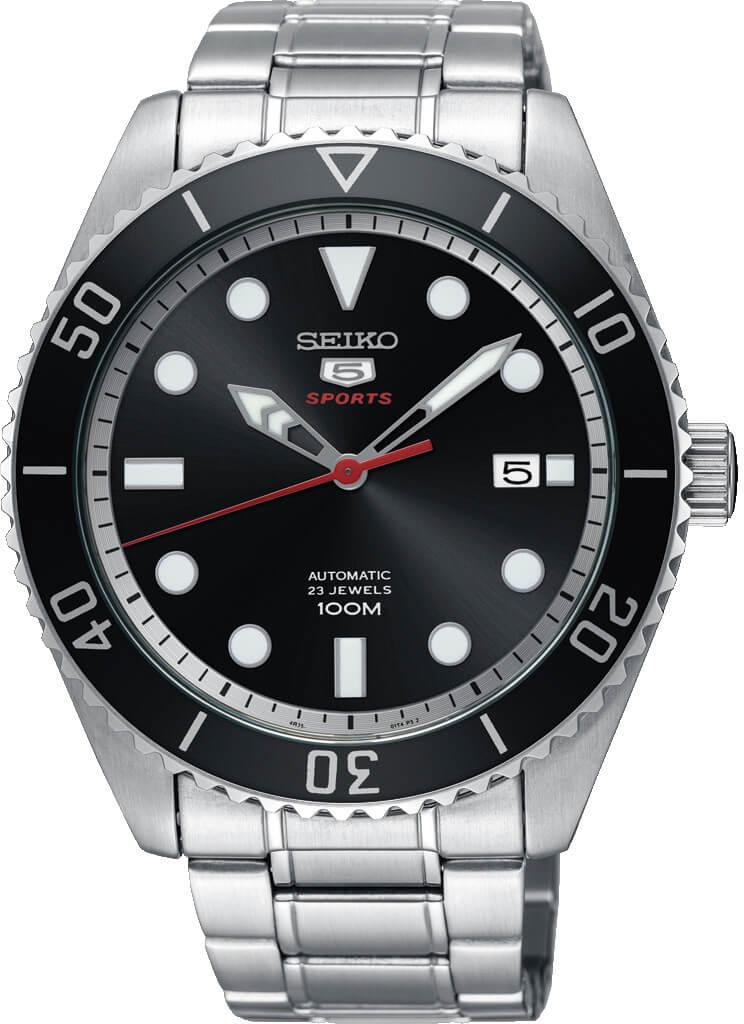 Seiko 5 - automat SRPB91K1 Doprava a roční pojištění hodinek ZDARMA ... 422df172cd