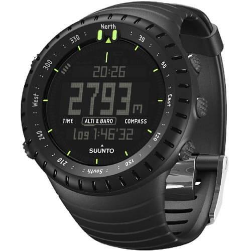 Suunto Core All Black Doprava a roční pojištění hodinek ZDARMA ... 82a1f03d904