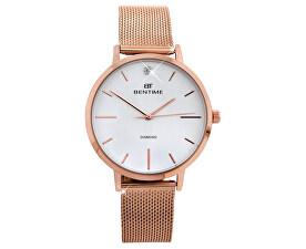 Bentime Dámské hodinky s diamantem 044-9MB-PT11894O 719844bbf9