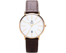 Pánské hodinky Royal London hnědé  2a6bde7430b