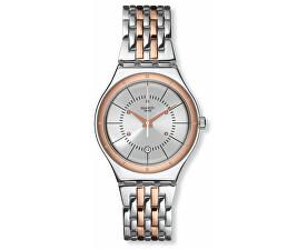 Pánské hodinky Swatch stříbrné  384dd1085ab
