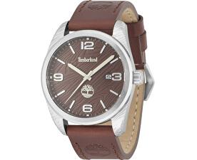 Pánské Módní hodinky Timberland hnědé  3d67982f93b