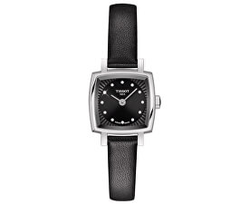 T-Lady Lovely Square T058.109.16.056.00 cu diamante