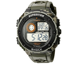 ad08c74ef63 Timex EXPEDITION SHOCK XL VIBRATING ALARM T49981